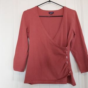 Reitmans side buttoned top /B4